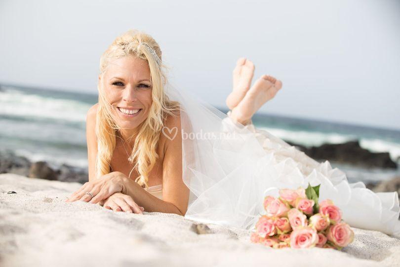 Sesión de boda en Lanzarote