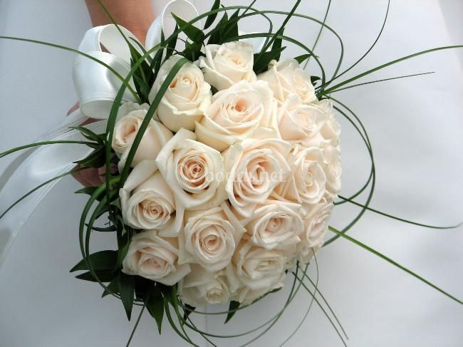 Ramo de novia Bouquet Rosas