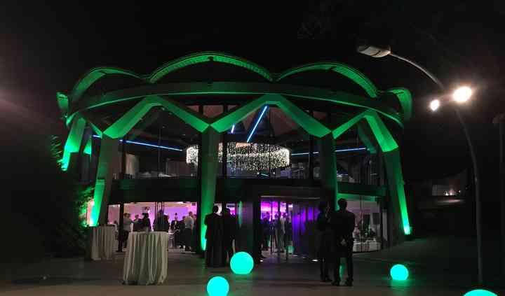 Iluminación especial para bodas