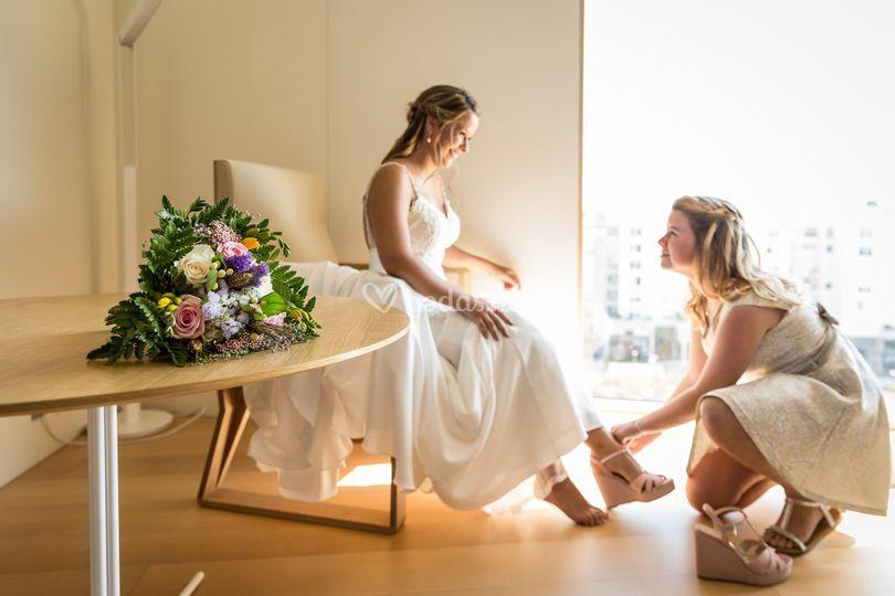 Ramo novia pre enlace boda