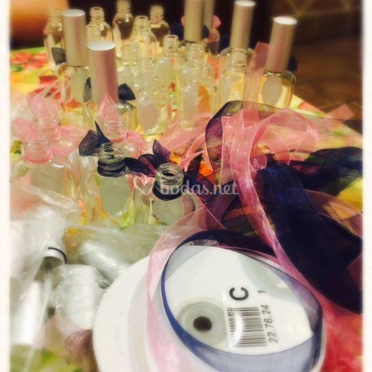 Perfumería en tu boda