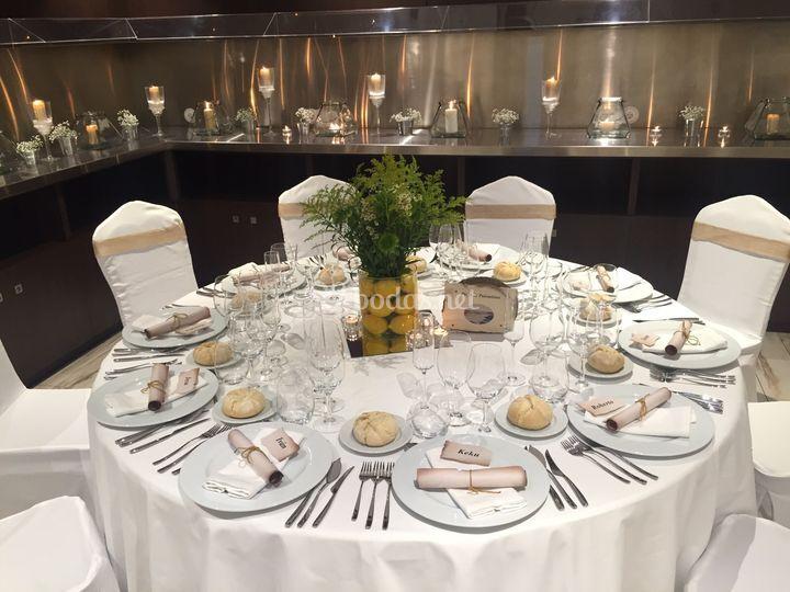 Decoración del Banquete