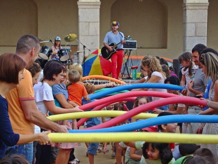 Animación infantil evento Barcelona