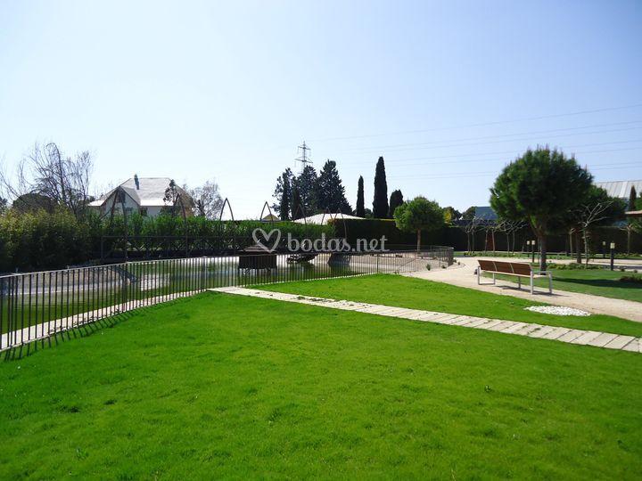 Jardín Lago