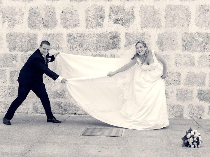 Haciendo tu boda divertida!