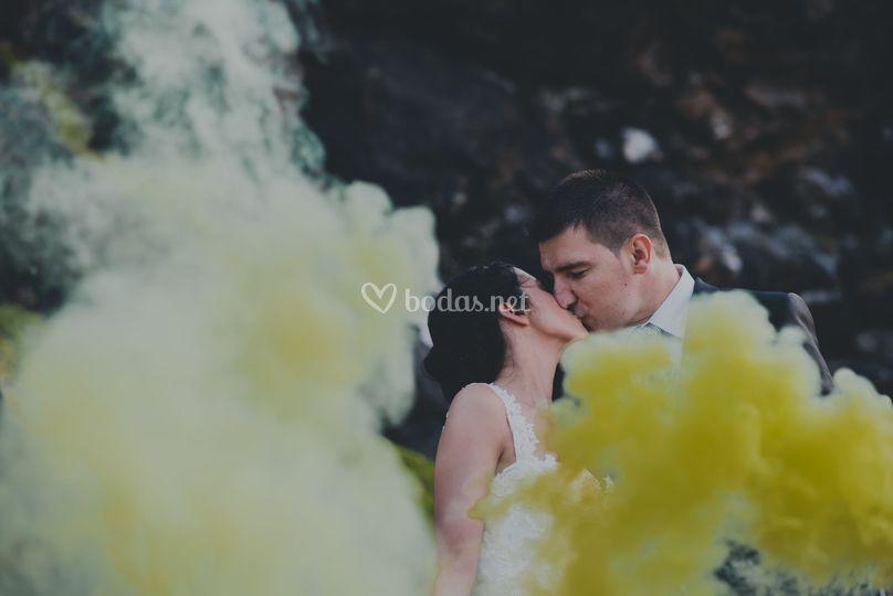 El beso amarillo