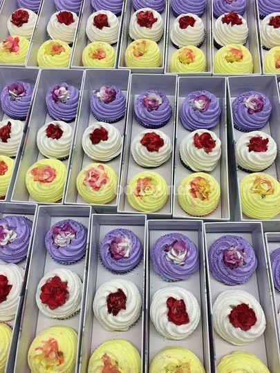 Cupcakes invitados