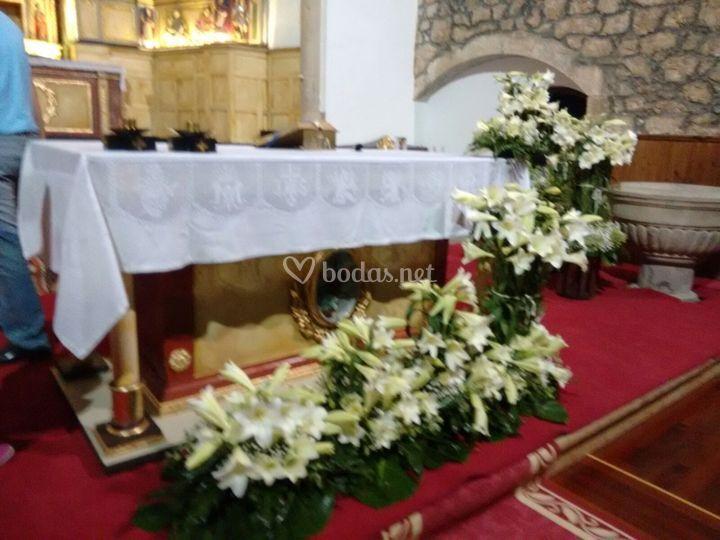 Iglesia floral