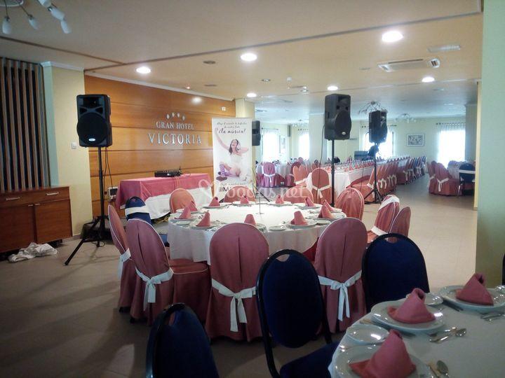 Sonorización Hotel Victoria