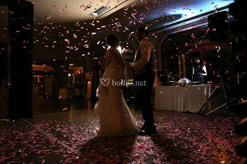 Confeti para bodas