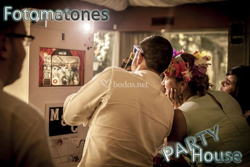 Fotomatón con complementos