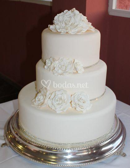 Elegantes stand cakes
