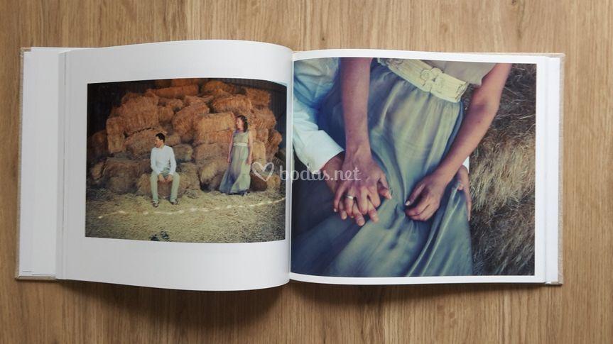 Álbum boda diseño