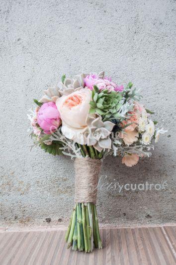Ramo de flores novia