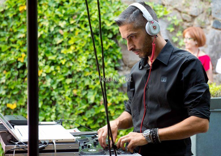 DJ en directo