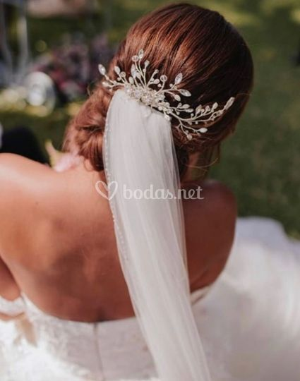 Tocado de novia BodArte 2020