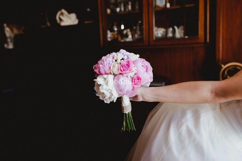 Bouquet de peonias
