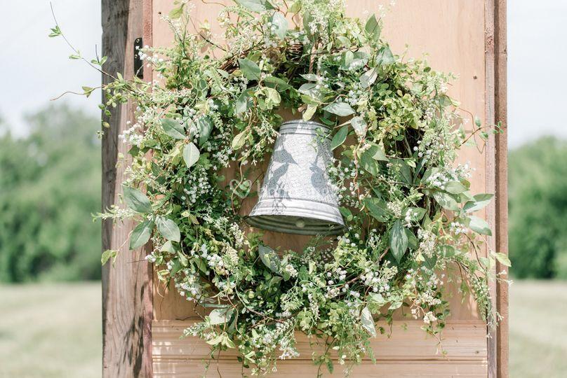 Decoración floral de la ceremonia