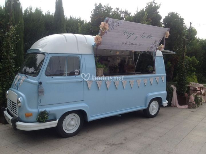 Renault estafette blue light