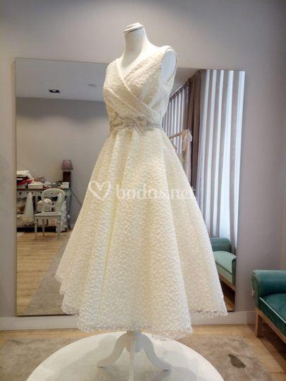 Vestido de novia de baile a medida