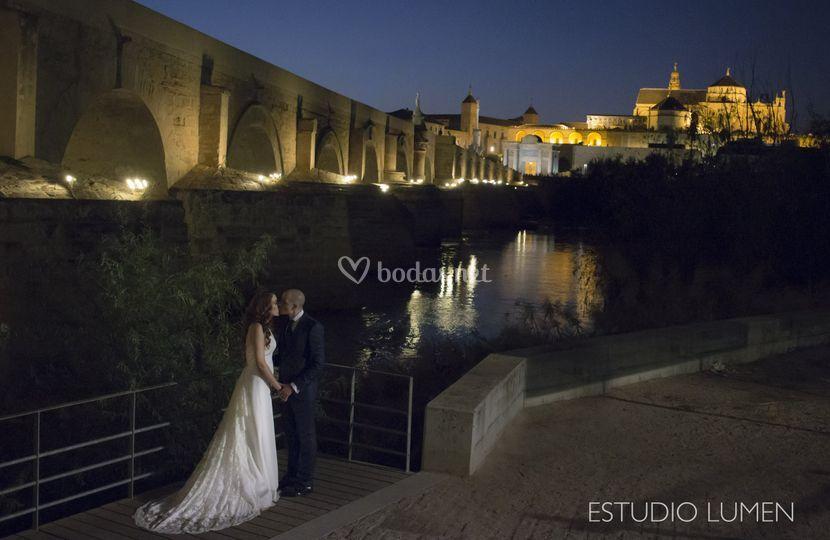 Puente sobre el Guadalquivir