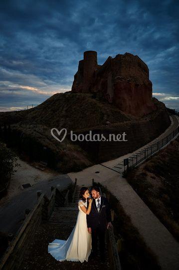 Novios en el Castillo Arnedo