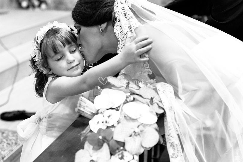 Amor de madre en la boda