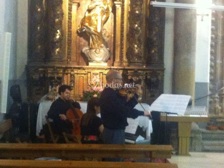 Cuarteto en Iglesia