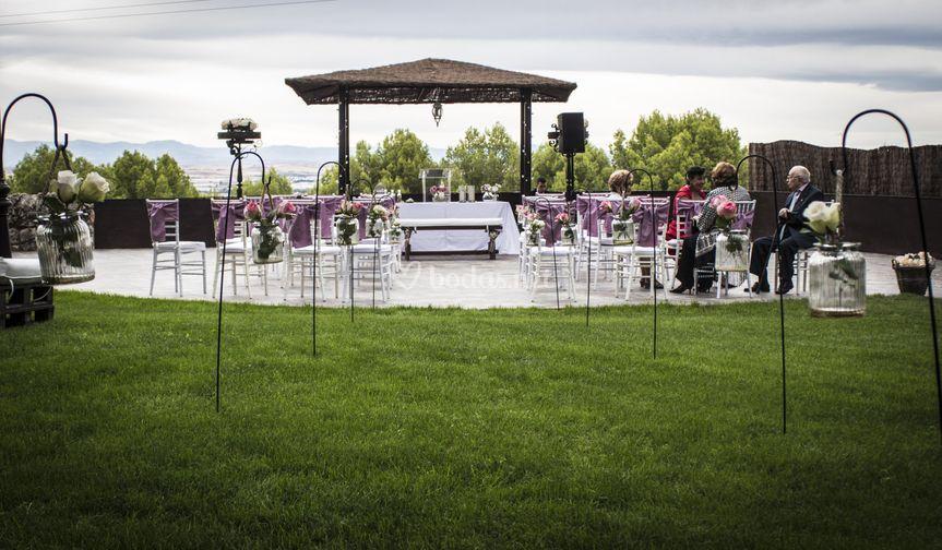 Ceremonia con vistas a Alcalá