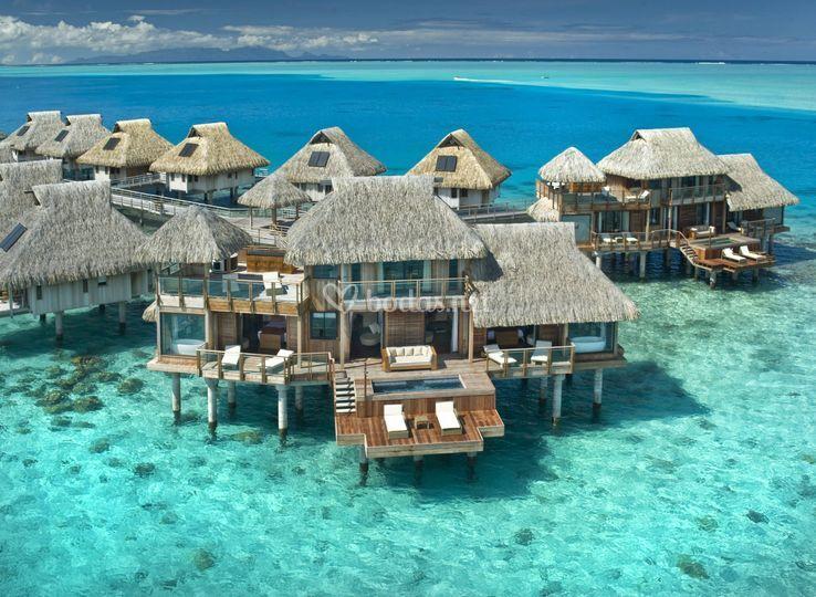Overwater en Bora Bora