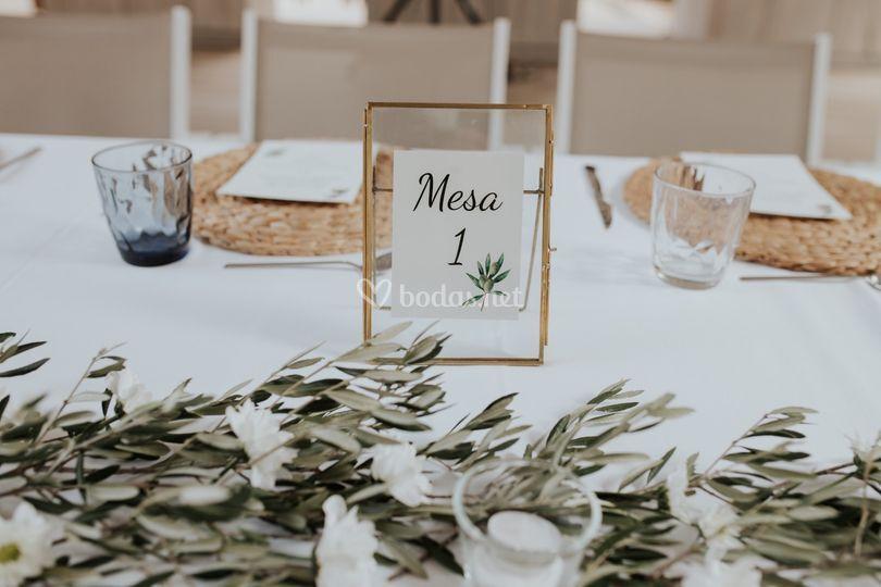 Mesas boda E&I
