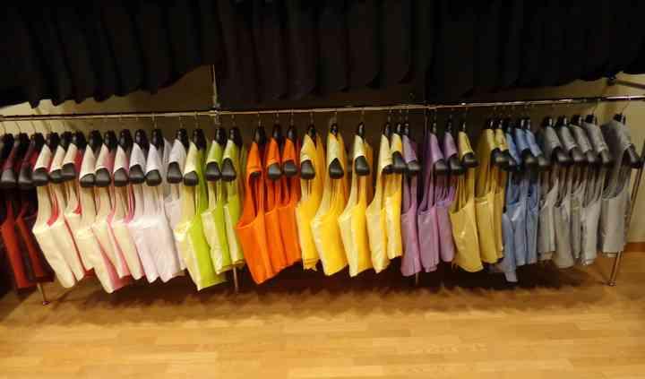 Chalecos, tallas y colores