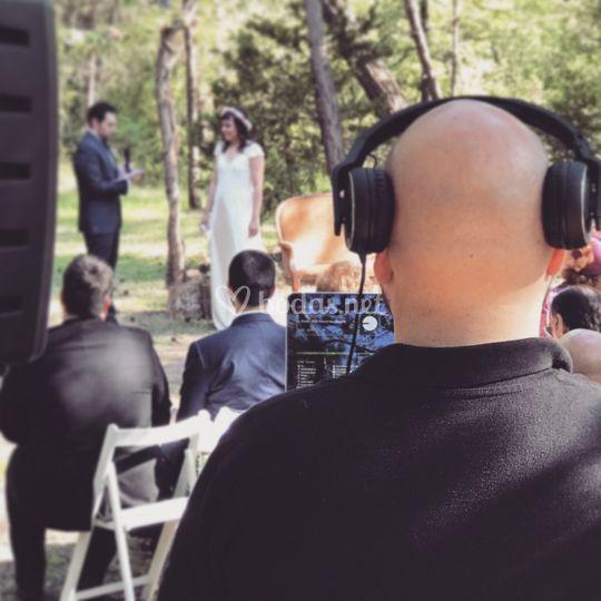 DJ de boda - Ceremonia