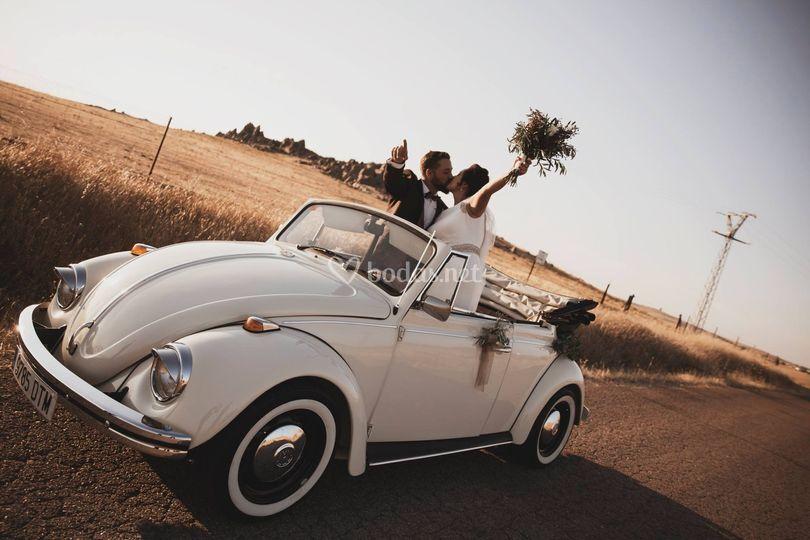 Vw escarabajo cabrio boda