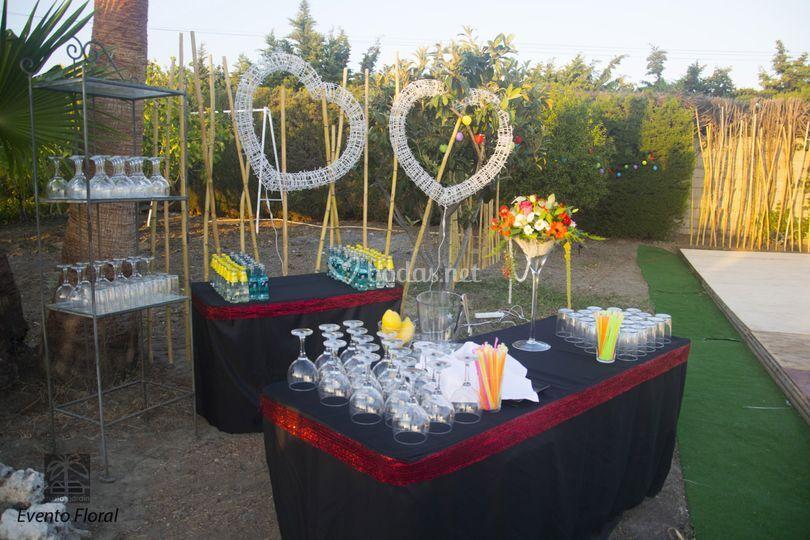 Decoracion de costa jard n eventos foto 47 for Decoracion jardin granada