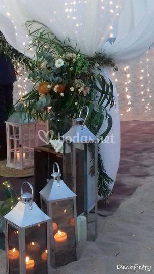 Laterales ceremonia