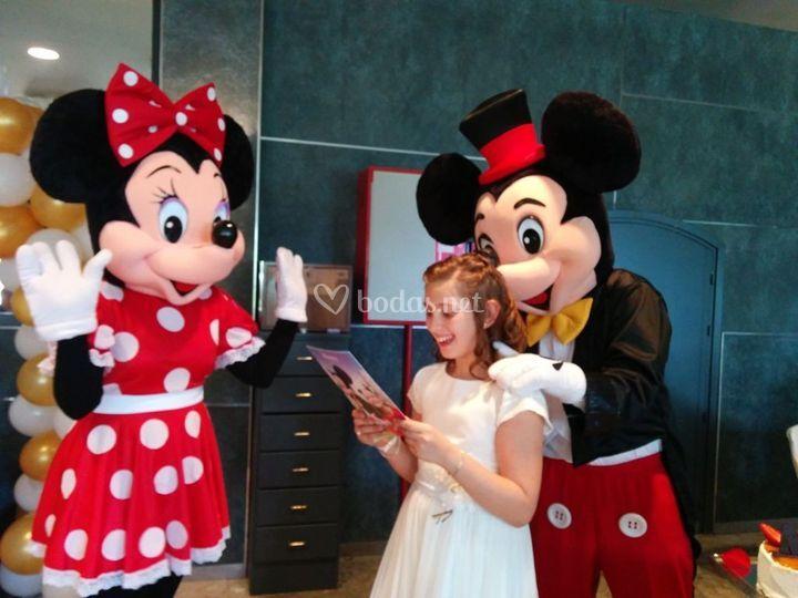 Regalo de Mickey y Minnie