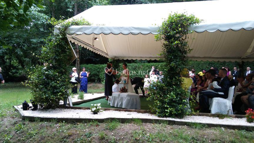 Sonorizando boda