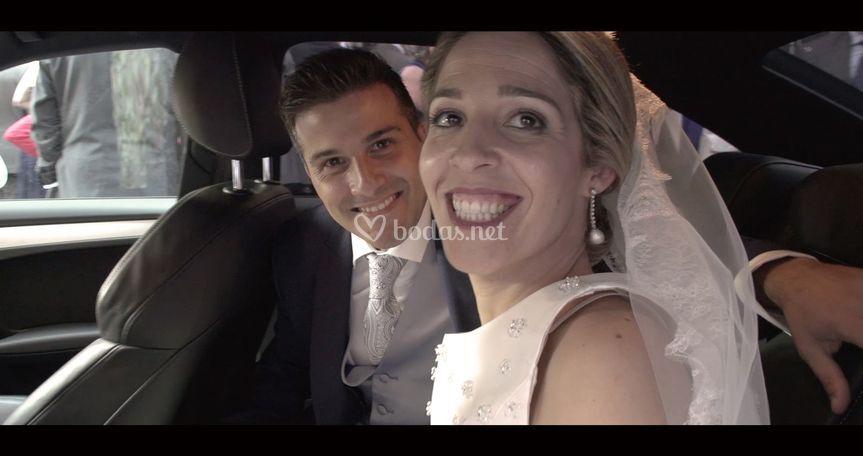Fotograma Susana y Héctor