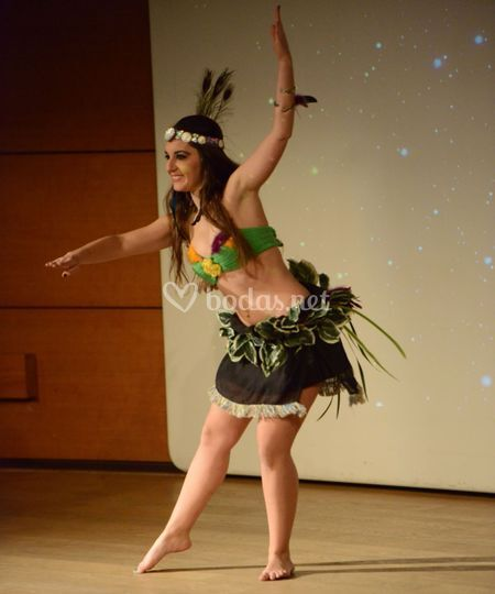 Danza tahitiana Granada