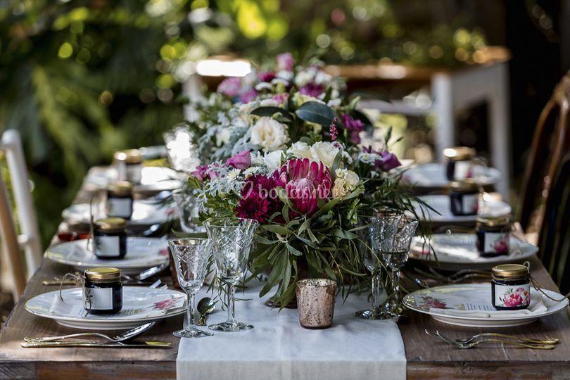 Mesa imperial banquete