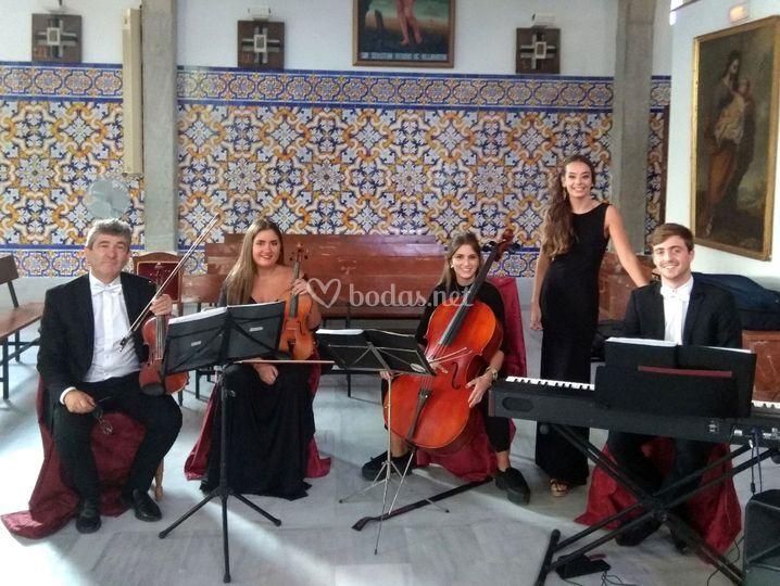 Cuarteto con soprano