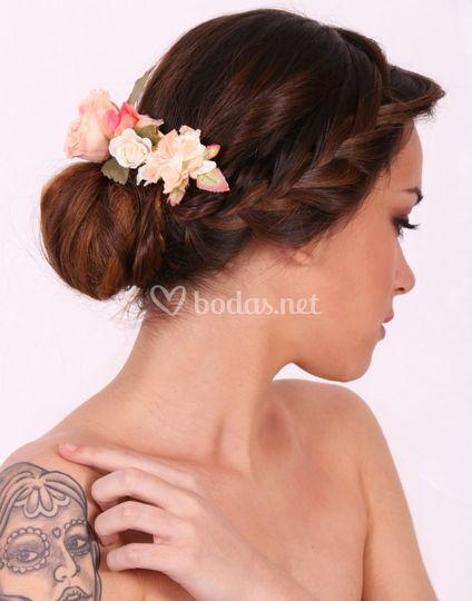 Peinado 1 parte lateral