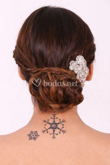 Peinado 2 parte trasera