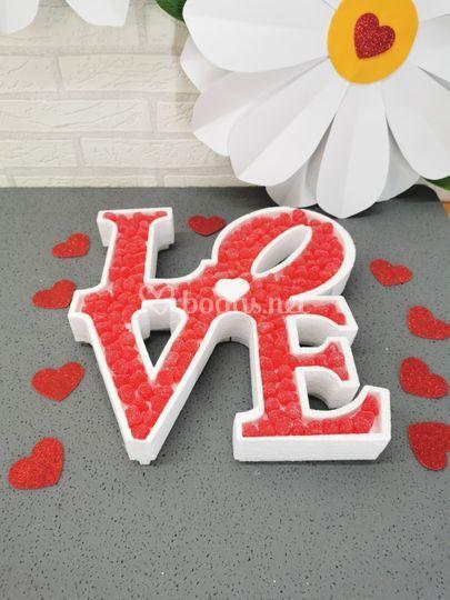 """Candy bar """"love"""""""
