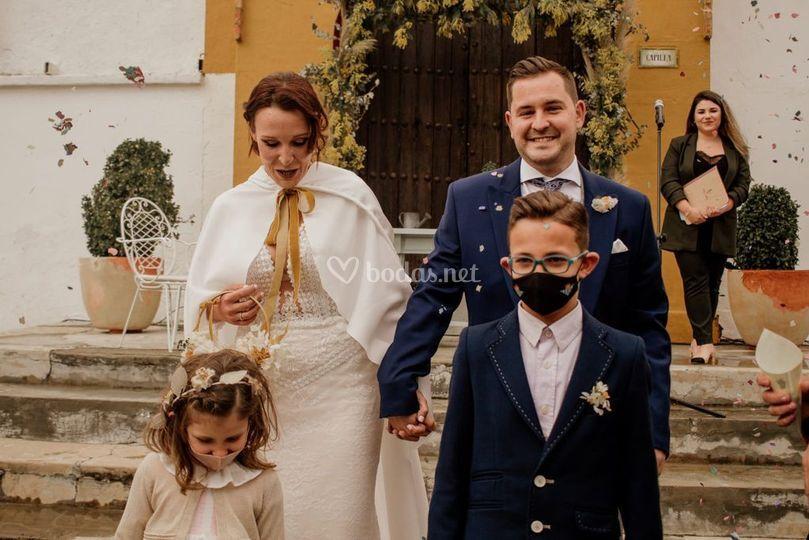 Boda de Eva y Juan Carlos
