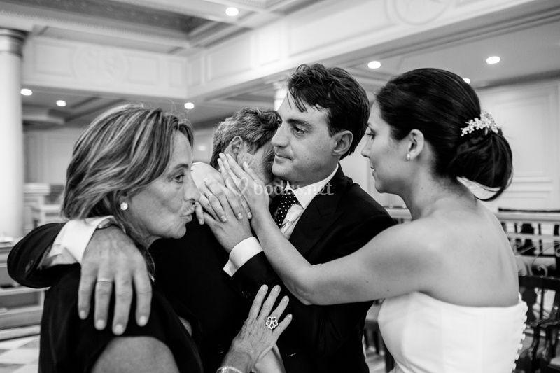 Momentos de la boda
