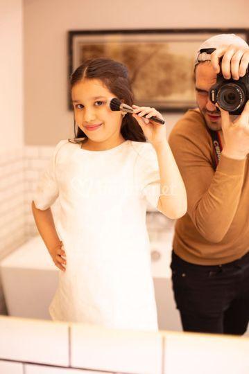 Maquillaje de niña
