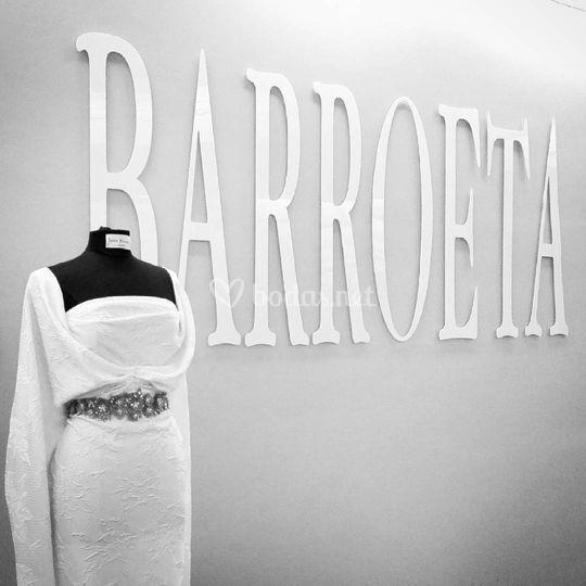 Vestido de novia J.Barroeta