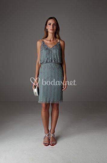 Vestido corto modelo cy 0099